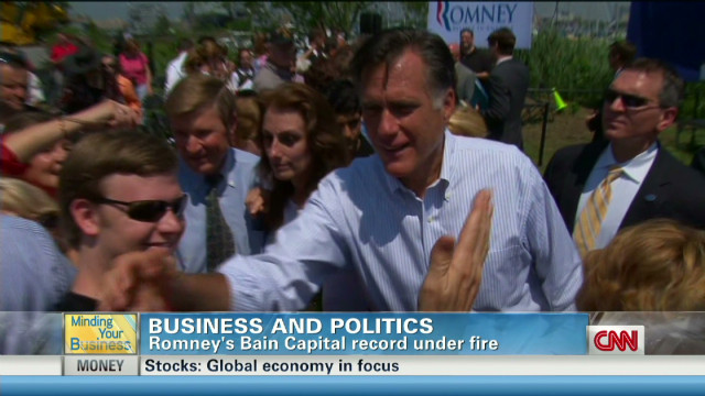 MYB: Romney's Bain record under fire