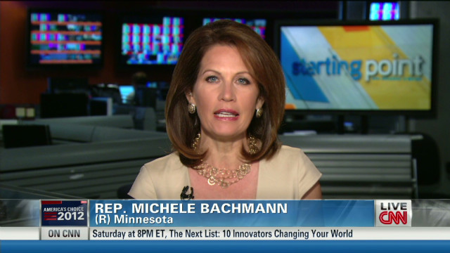 Bachmann: Obama not talking health care