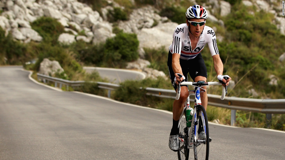Pre-race favorite Bradley Wiggins has been training in Mallorca ahead of his bid to win the Tour de France for the first time.