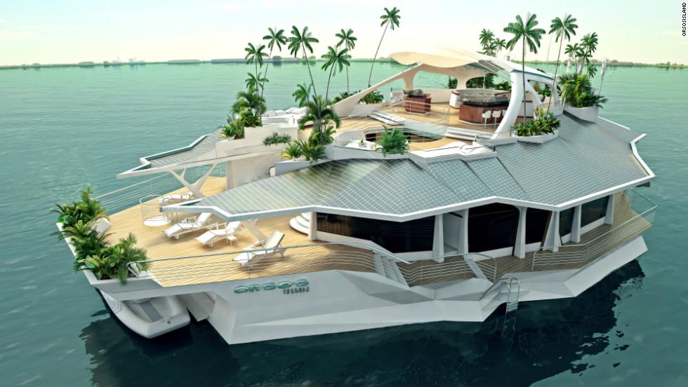 The $6 million man-made floating island - CNN