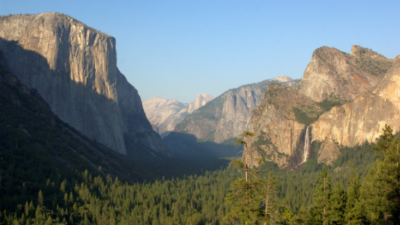 Not always this clear, we know, but still Yosemite.