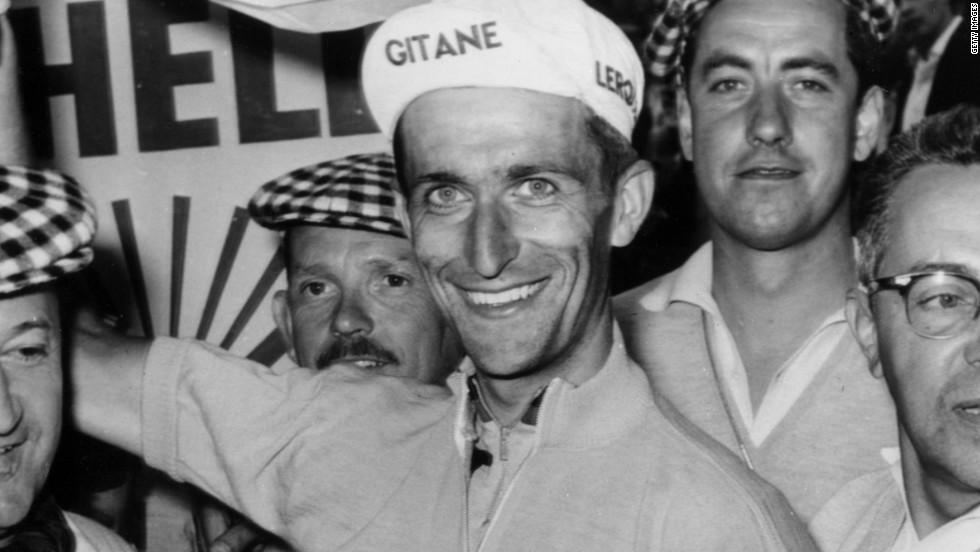 Tom Simpson became the first British rider to don the yellow jersey of the Tour de France back in 1962, but he died during the race five years later, the victim of drugs and heat exhaustion.