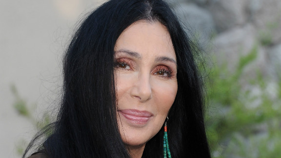 Cher is shown here arriving at the premiere of