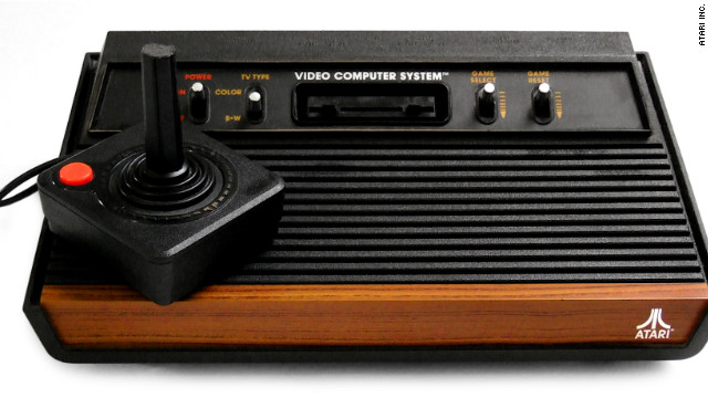 One of the earliest video-gaming systems, the Atari 2600 sold more than 30 million units.