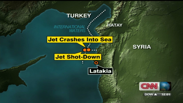 NATO, Turkey slam Syria over downed jet
