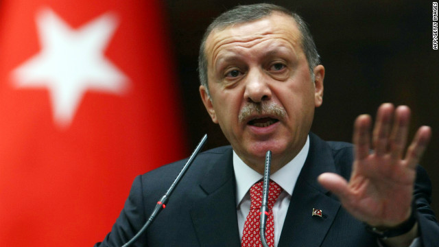 Turkey toughens military stance