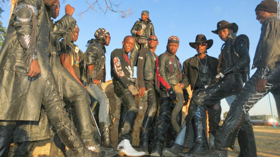 Botswana's rockers have carved a unique image reminiscent of the 1970s British heavy metal scene.