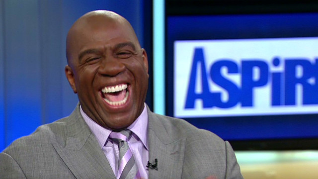 'Magic' Johnson launches TV network
