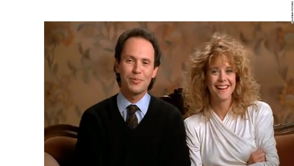 "Before there was ""Friends With Benefits"" and ""No Strings Attached,"" the Nora Ephron-scripted ""When Harry Met Sally ..."" asked, ""Can men and women ever just be friends?"" After 12 years of debating the ubiquitous question, Harry (Billy Crystal) and Sally (Meg Ryan) realize they're perfect for each other. And, as Harry says, ""When you realize you want to spend the rest of your life with somebody, you want the rest of your life to start as soon as possible."""
