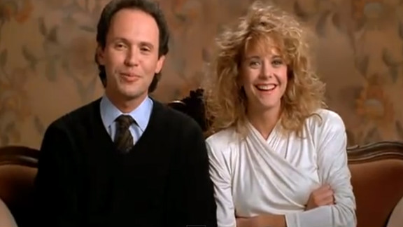 "Before there was ""Friends With Benefits"" and ""No Strings Attached,"" the Nora Ephron-scripted ""When Harry Met Sally ..."" asked, ""Can men and women ever just be friends?"" After 12 years of debating the ubiquitous question, Harry (Billy Crystal) and Sally (Meg Ryan) realize they"