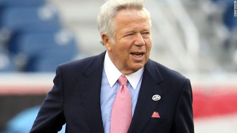 03f101e63 New England Patriots owner Robert Kraft presided over the franchises three  Super Bowl wins between 2001