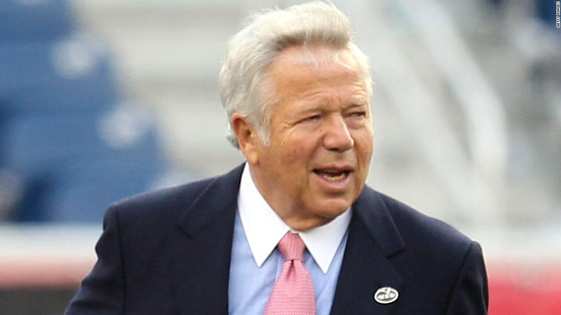 New England Patriots owner Robert Kraft wins appeal in Florida prostitution case – CNN