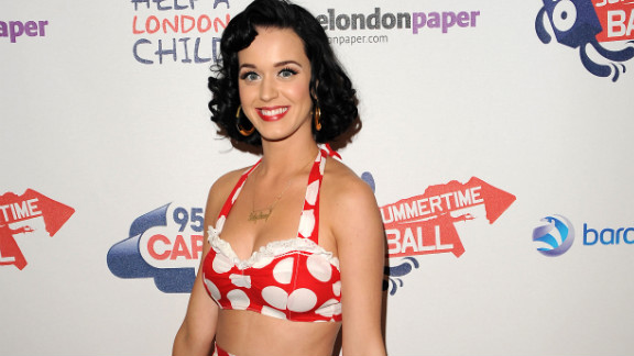Perry attended Capital FM's Summertime Bal in 2009 looking like a fresh-faced Minnie Mouse.