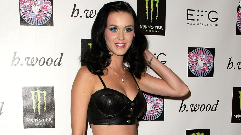 She donned a more subdued bra top at a Hollywood event in 2009.