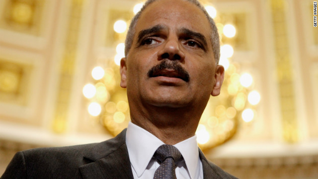 Attorney General Eric Holder is at the center of the Fast and Furious scandal.