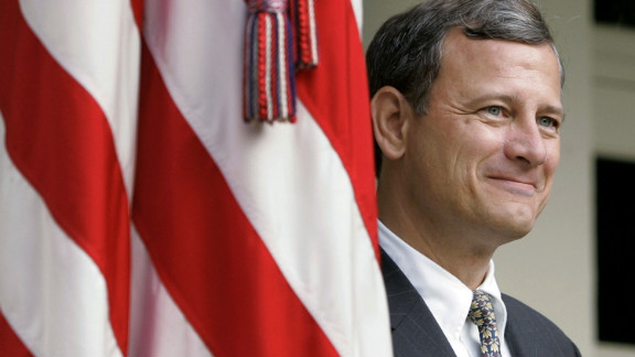 Chief Justice John Roberts, a conservative appointed by President George W. Bush, sided with the Supreme Court