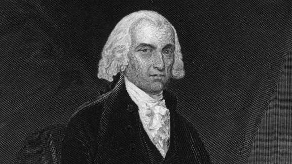 Marbury v. Madison (1803): When Secretary of State James Madison, seen here, tried to stop Federal loyalists from being appointed to judicial positions, he was sued by William Marbury. Marbury was one of former President John Adams
