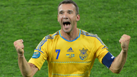Ukraine were the other team to welcome Europe
