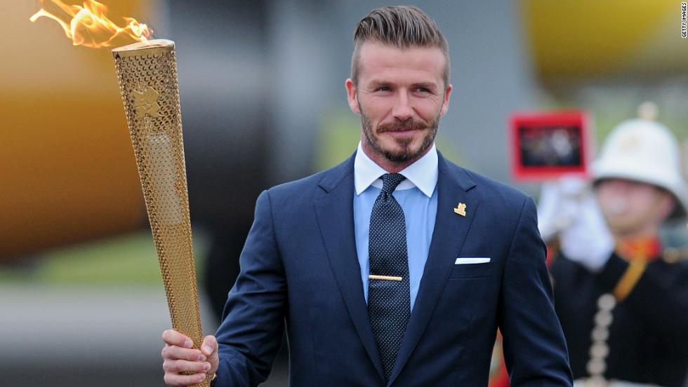 Beckhams Olympic Dream Ends CNN - Hairstyle beckham 2012