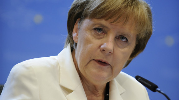 German chancellor Angela Merkel is facing a new domestic revolt from conservative critics of her eurozone rescue plans.