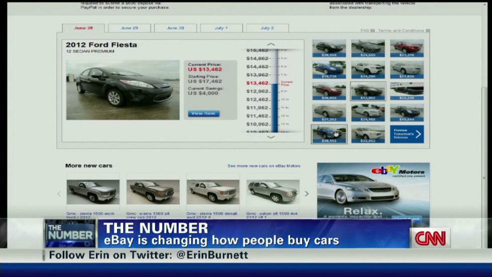 Ebay Motors tries new sales trick - CNN Video