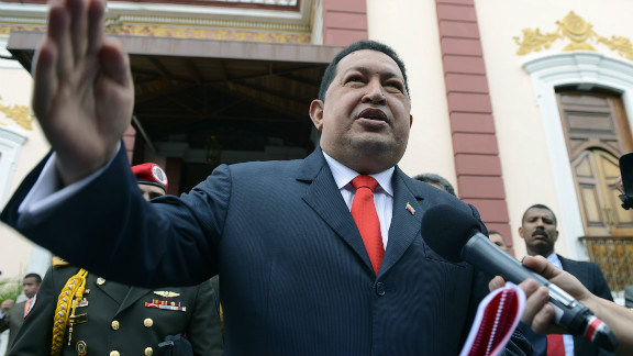 President Hugo Chavez and the country