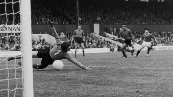 So how does Nadal's upset compare to other stunners? Unfancied North Korea stunned football fans in 1966 by knocking Italy out of the World Cup in the group stage. Pak Doo Ik scored the only goal of their game to send the Italians home from the English tournament.