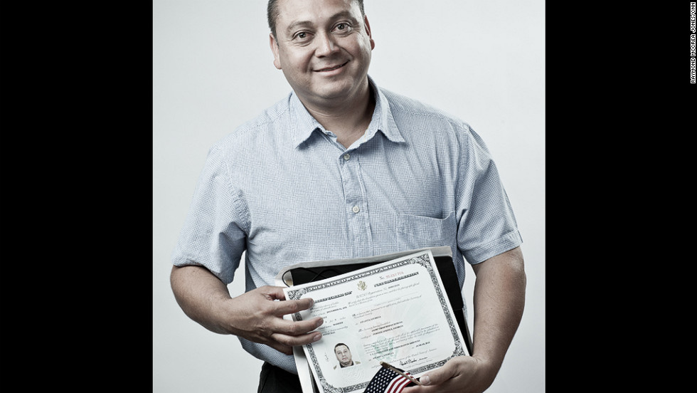 Naturalized citizens explain why they're American by choice