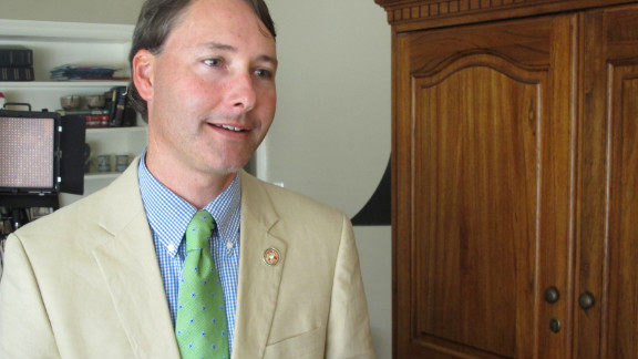 """State Rep. Sam Mims says his goal is to protect women, but if the law means fewer abortions, """"then that"""