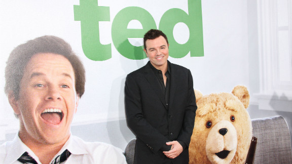"""Family Guy creator Seth MacFarlane's raunchy comedy """"Ted"""" earned an impressive $54.1 million its debut weekend."""