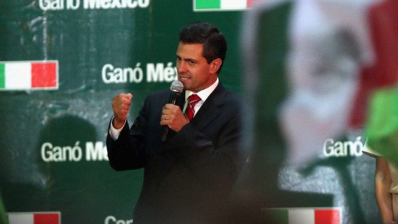 Mexico's president-elect Enrique Pena Nieto hopes to redefine the relationship between his country and the United States.