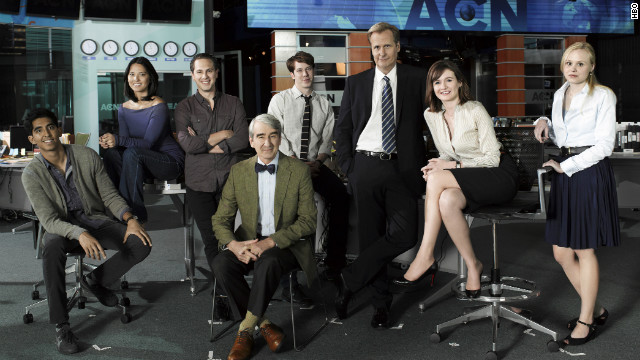"HBO's ""The Newsroom"" was a journalism drama set at a fictional cable news network."