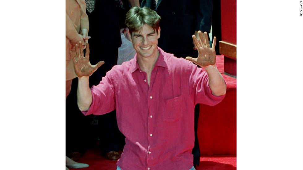 Cruise received a star on the Hollywood Walk of Fame in 1993.