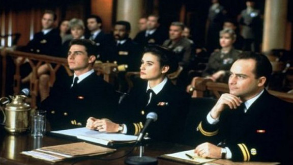 """Jack Nicholson's Col. Nathan R. Jessup told Cruise's Lt. Daniel Kaffee, """"You can't handle the truth!"""" in 1992's """"A Few Good Men."""" The film was nominated for four Academy Awards."""