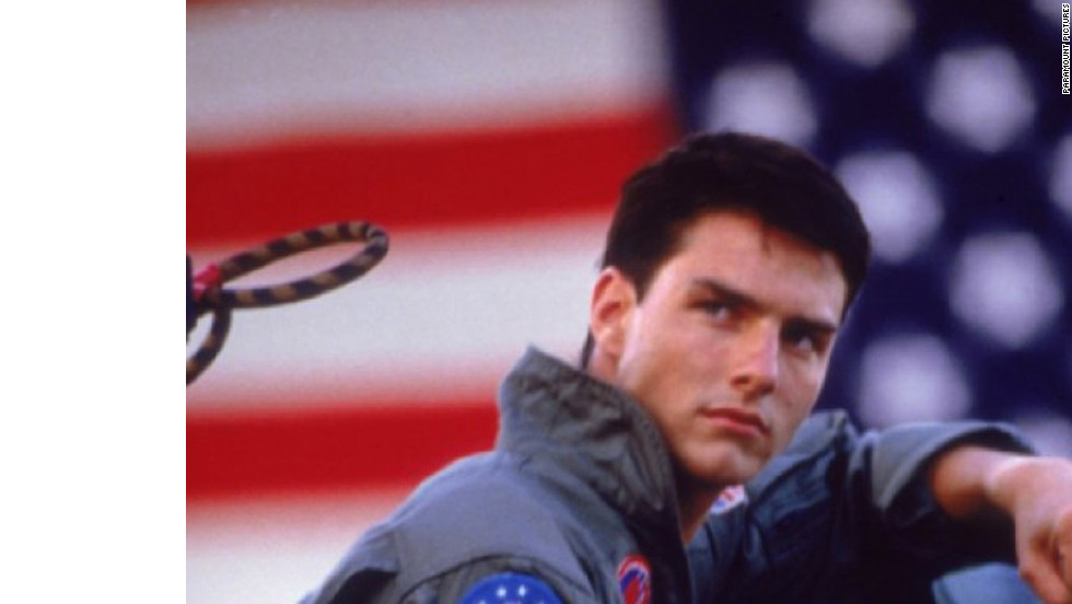 "Cruise's Maverick saved the day and got the girl in 1986's ""Top Gun."" In real life, the actor married Mimi Rogers in May 1987. They divorced in 1990. Emilio Estevez, Cruise's ""Outsiders"" co-star, was the best man at their wedding, according to<a href=""http://www.people.com/people/archive/article/0,,20096360,00.html"" target=""_blank""> People.</a>"