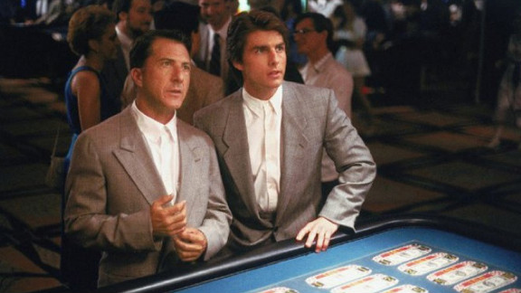 """Cruise starred with Dustin Hoffman in 1988's """"Rain Man."""" The film won four Academy Awards, including best picture."""