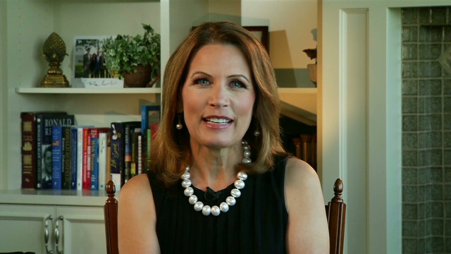 Michele Bachmann on being VP