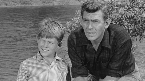 Future director Ron Howard played son Opie to Griffith
