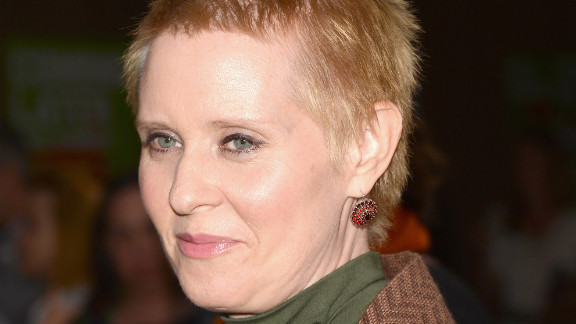 "Reports of ""Sex and the City"" star Cynthia Nixon's relationship with Christine Marinoni surfaced in 2004, six years after the television show's premiere. Nixon discussed her relationship with New York Magazine in 2006, saying, ""I never felt like there was an unconscious part of me around that woke up or that came out of the closet; there wasn't a struggle; there wasn't an attempt to suppress. I met this woman, I fell in love with her, and I'm a public figure."""