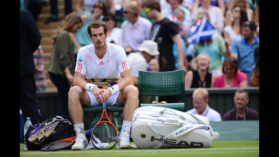 Murray ponders between games during his men