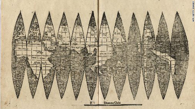 Oldest Known World Map.Centuries Old Map Of America Discovered At German University Cnn