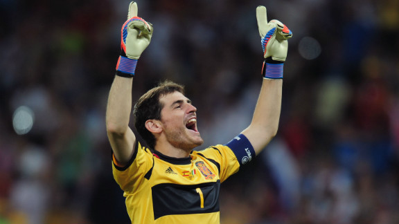 Captain Iker Casillas was a key part of Spain