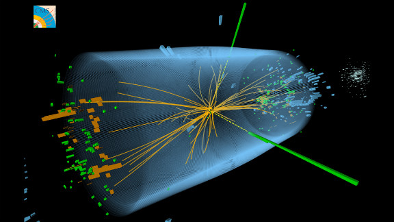 Scientists at the Large Hadron Collider detected a particle resembling the theorized Higgs boson, and announced this breakthrough in 2012. We may learn of amazing practical applications of the particle physics that goes on at the LHC, but no one knows what those will be.