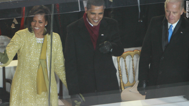 Michelle Obama wears Isabel's creation during her husband's inauguration