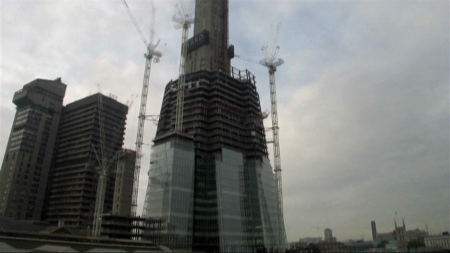 Time-lapse: The Shard built in 1 minute
