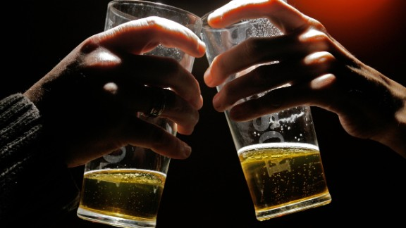 """Alcohol can flow freely during a holiday meal, but many beers have 150 to 200 calories per 12-ounce serving. Try skipping them in favor of a low-calorie beer or a """"light"""" liquor. Or switch to a no-calorie soda or nonalcoholic beverage."""