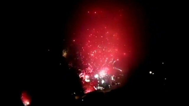 Watch a 'fireworks fail' in San Diego