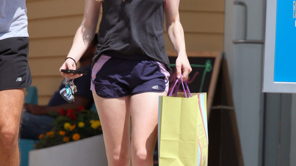 Amanda Seyfried goes shopping in West Hollywood.