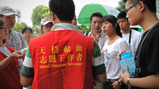 As of July 1, lesbians in China are allowed to donate blood after a 1998 ban was amended.
