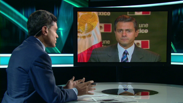President Enrique Peña Nieto's thoughts on the drug war